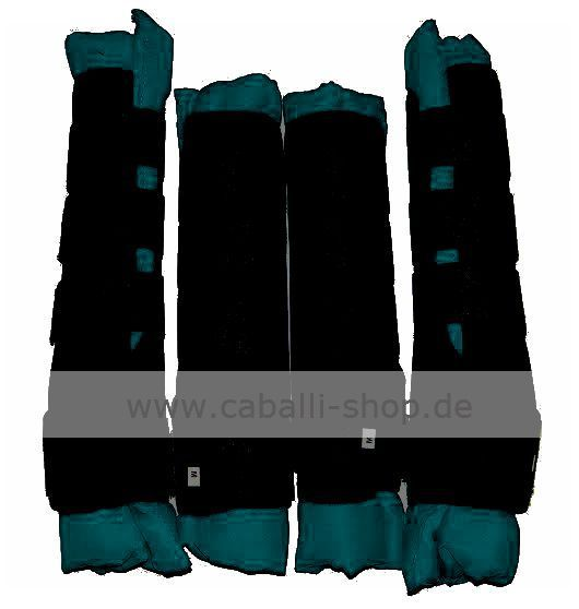 gasta petrol t rkis 4er set stall transportgamasche. Black Bedroom Furniture Sets. Home Design Ideas